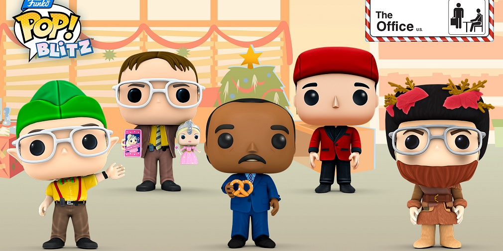 Funko Pop! Blitz's Christmas update crosses over with The Office