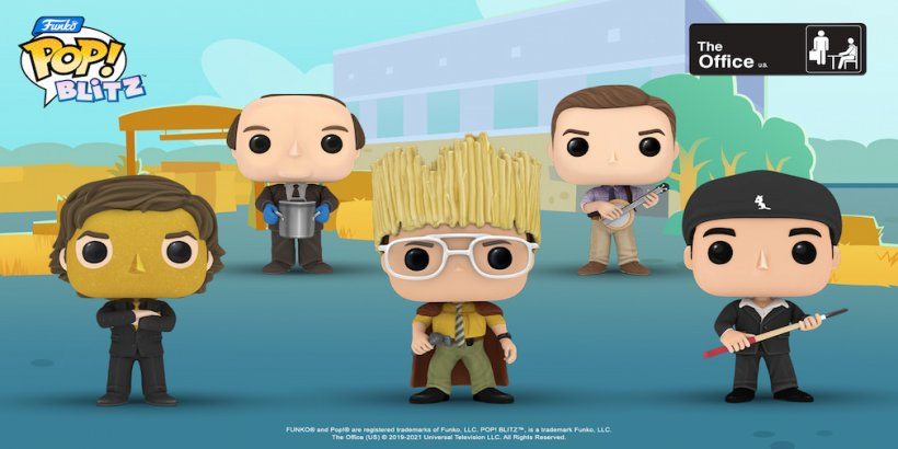 Funko Pop! Blitz partners with the popular sitcom, The Office for its weekly crossover event