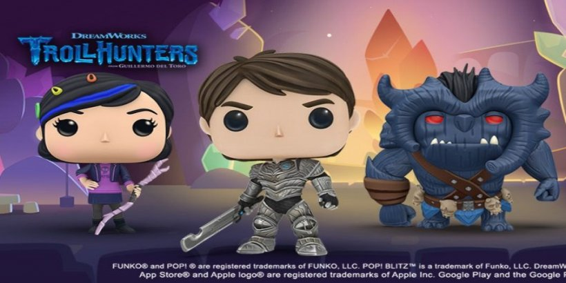 Funko Pop! Blitz has added characters from Trollhunters: Tales of Arcadia to celebrate the movie release