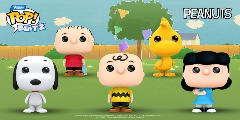 Funko Pop! Blitz's new crossover event features iconic characters from Peanuts