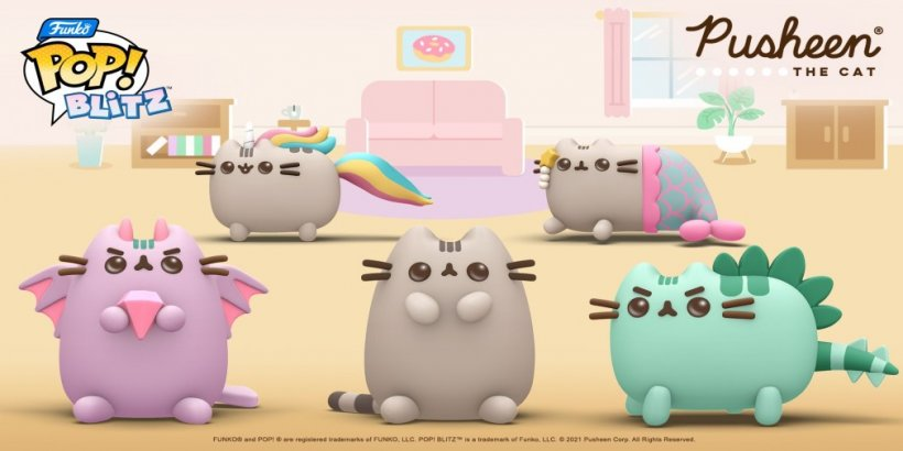 The Pusheen x Funko Pop! Blitz crossover goes live this week