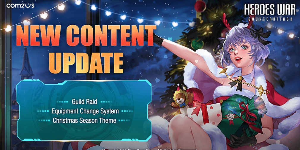 Heroes War: Counterattack's first major update brings Guild Raids and holiday cheer