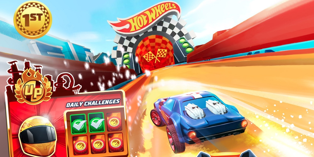 Hot Wheels Unlimited is a racing game for iOS and Android that allows players to build their own tracks