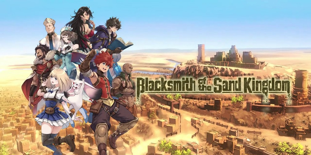 Kemco's Blacksmith of the Sand Kingdom out now on mobile