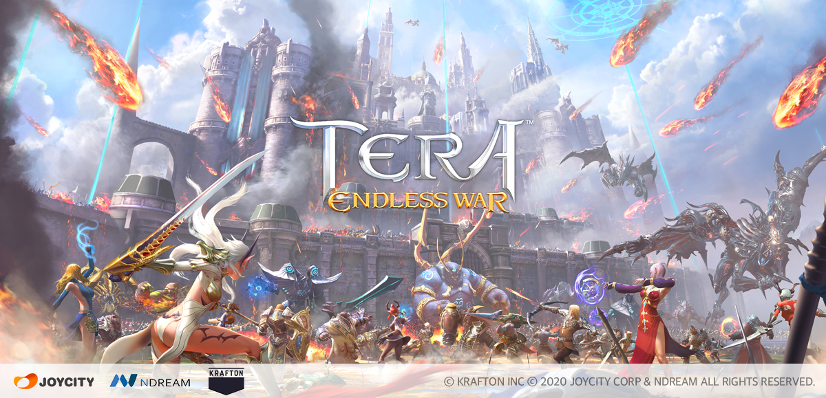 TERA: Endless War is a strategic spin-off to the popular MMORPG that's available now for iOS and Android