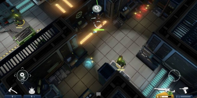 Space Marshals 3, the latest instalment in the popular action-stealth series, is available now for iOS and Android