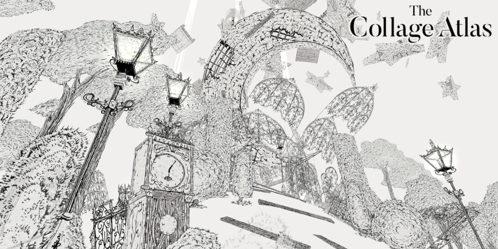 The Collage Atlas is a first-person adventure game with beautiful hand-drawn artwork, heading for Apple Arcade this week