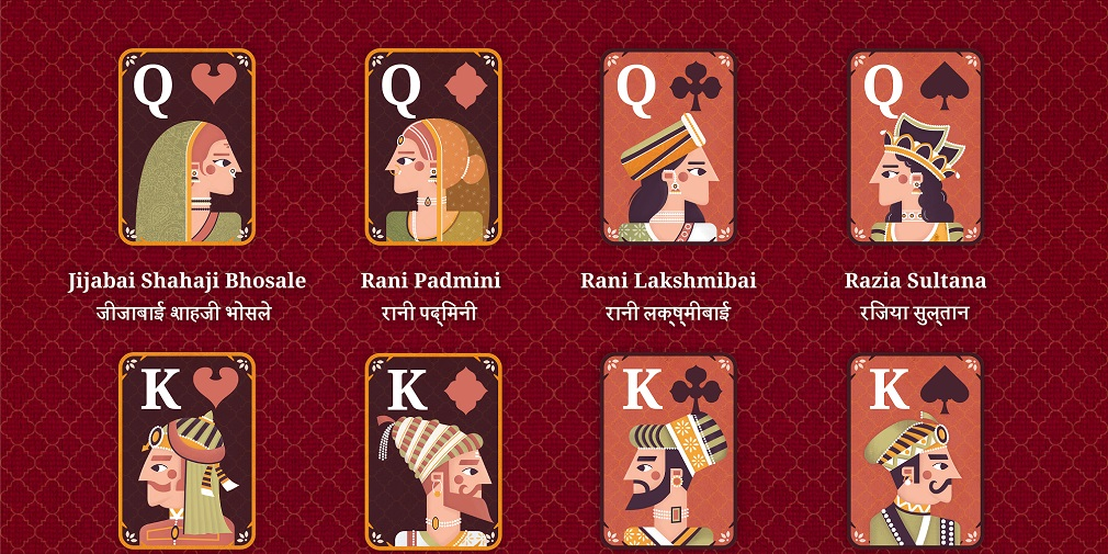 Flick Solitaire adds a new deck based on Indian history