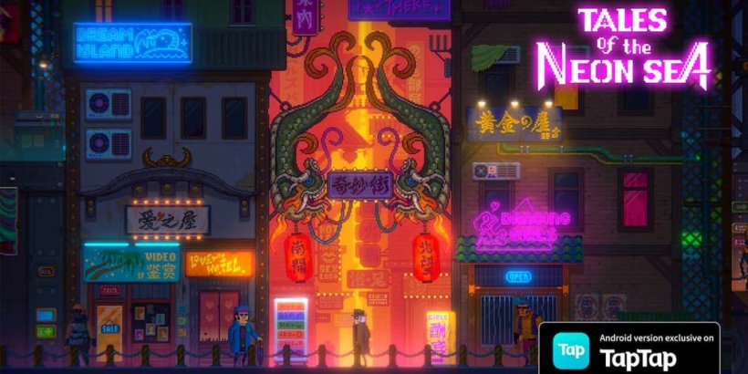 Tales of the Neon Sea, now a TapTap exclusive, is coming to Android globally on August 5th