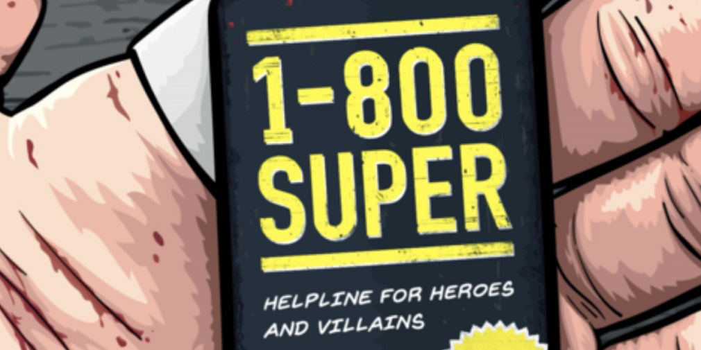 1-800 SUPER is a game about operating a crisis hotline for superheroes, out now on iOS