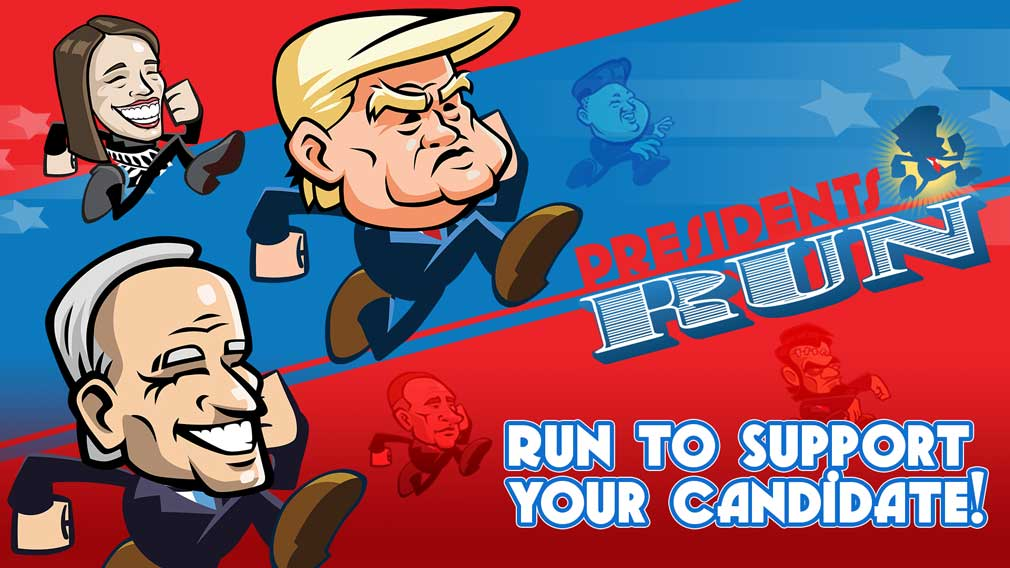 Presidents Run is a light-hearted endless runner that's available now for iOS and Android