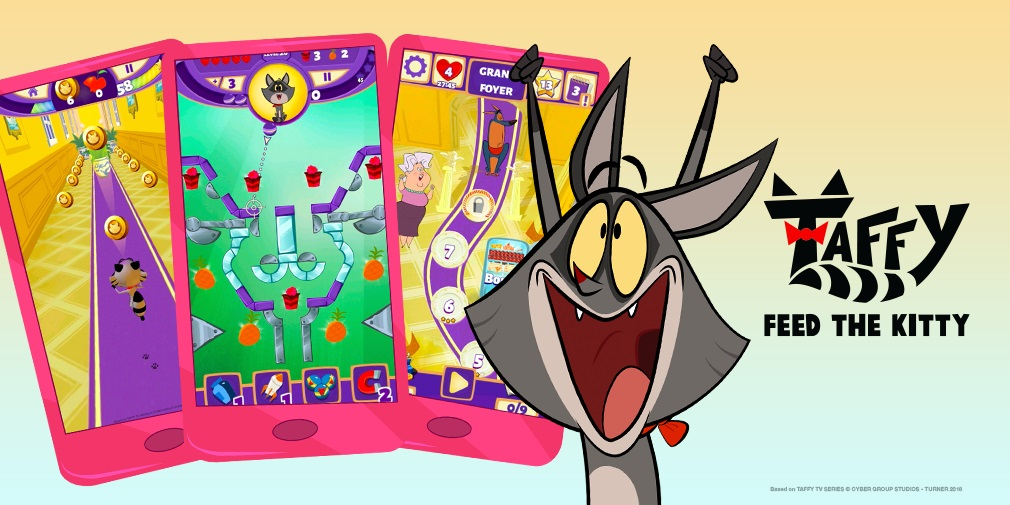Taffy: Feed The Kitty is a new cartoon-inspired pinball puzzler for all ages