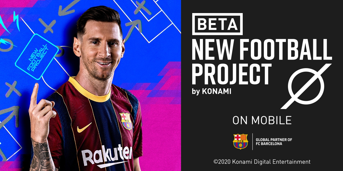 Konami is developing a casual football title for mobile that's accepting sign-ups for an upcoming closed beta