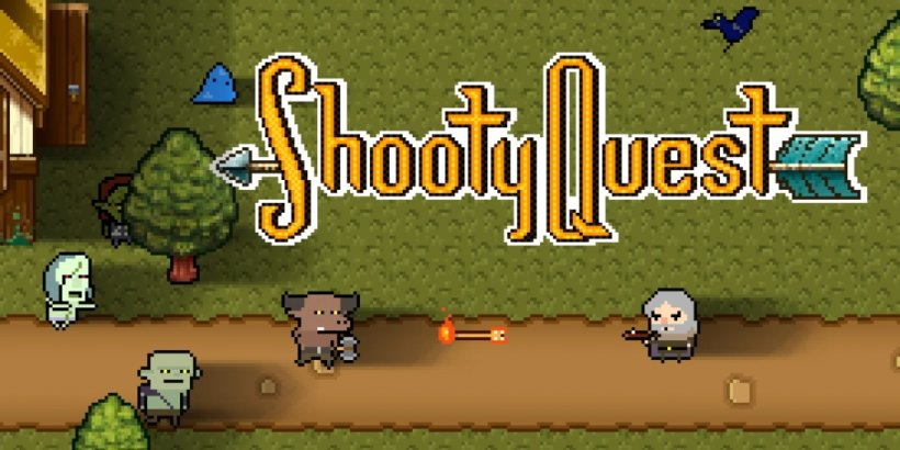 Shooty Quest is a casual arcade shooter where you'll be slaying enemies with different arrow types
