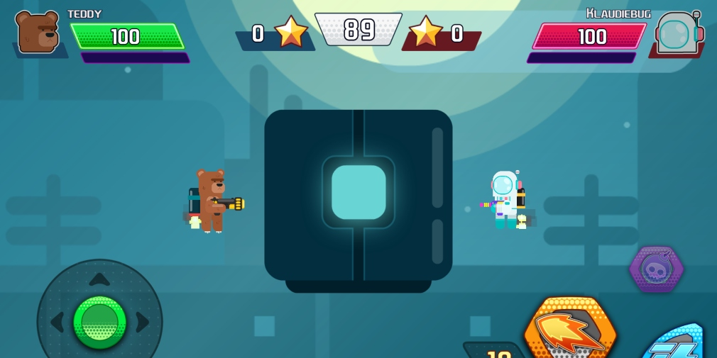 Gravity Brawl is an upcoming multiplayer shooter that's heading for iOS and Android this year