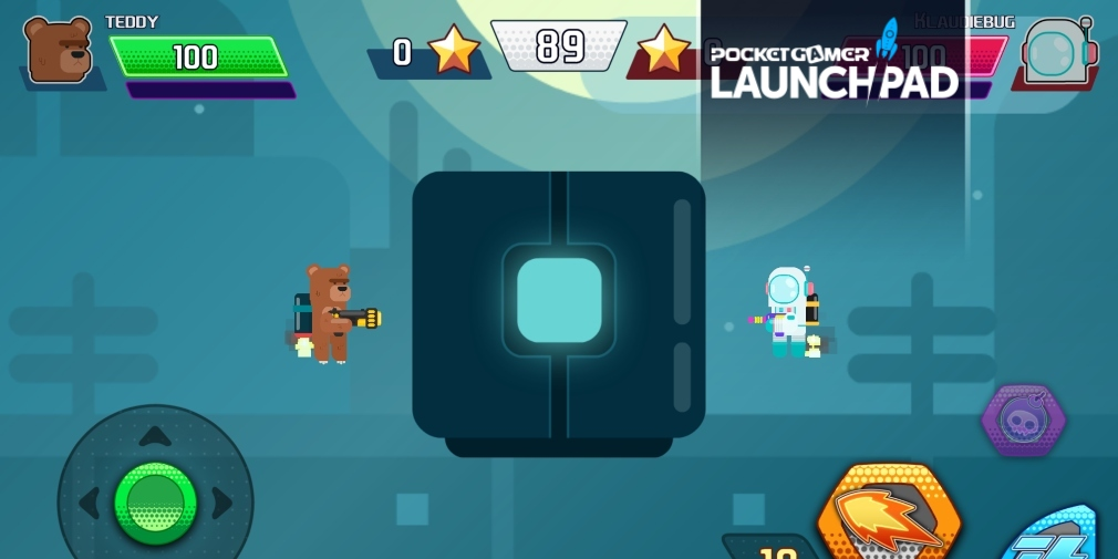 Check out some exclusive gameplay footage for the upcoming 2D shooter Gravity Brawl