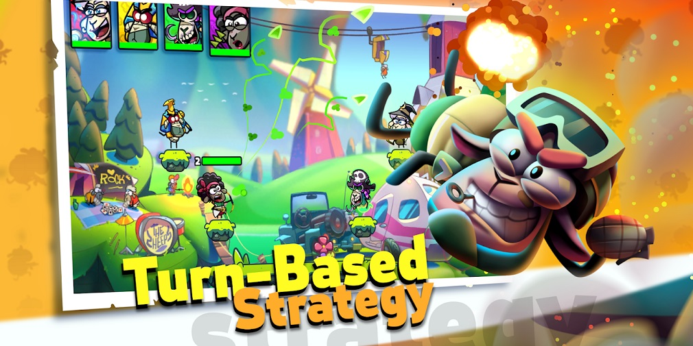 Action-strategy game Sheep Squad available now on mobile