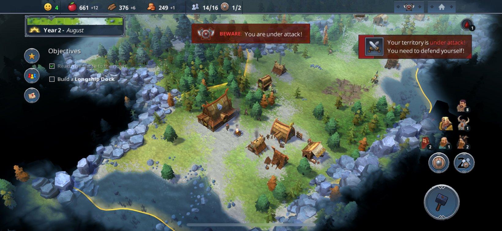 Обзор Northgard Mobile. Потрясающий мир с несколькими недочетами