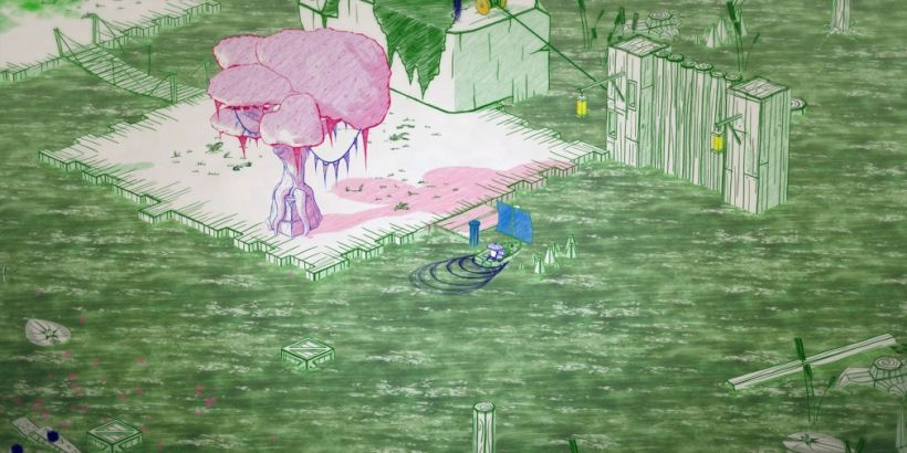 Hand-drawn puzzler Inked: A Tale of Love launches on mobile next week