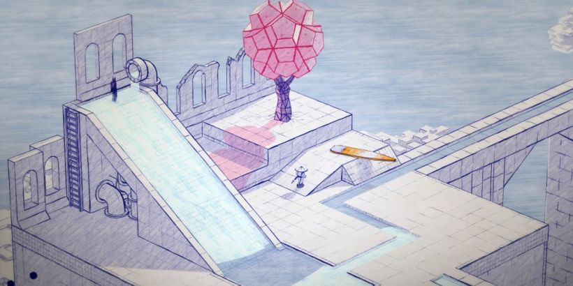Inked: A Tale of Love is a 'pen-on-paper' puzzler out now for mobile