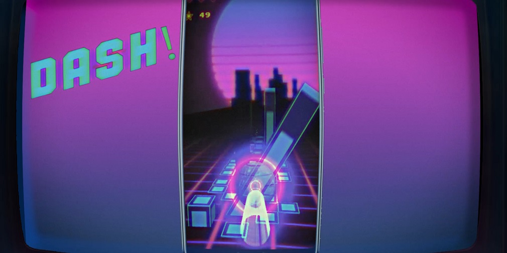 Mesh Dash, the hardcore retrowave mobile game, is out now on Google Play