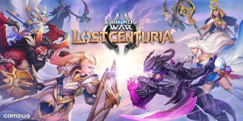 Summoners War: Lost Centuria, a strategy title from Com2uS, has released globally for Android and iOS