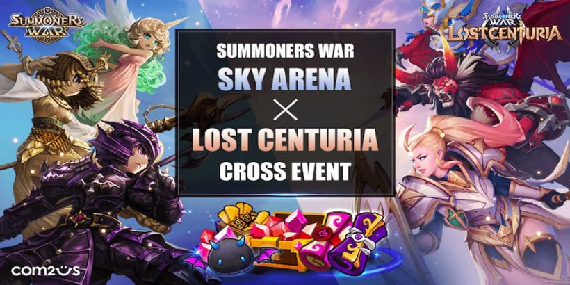 Summoners War: Lost Centuria celebrates hitting a new milestone in a crossover event with Sky Arena