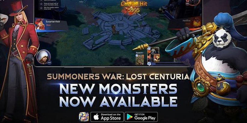 Summoners War: Lost Centuria adds new monsters Phantom Thief and Panda Warrior with Rate-Up event