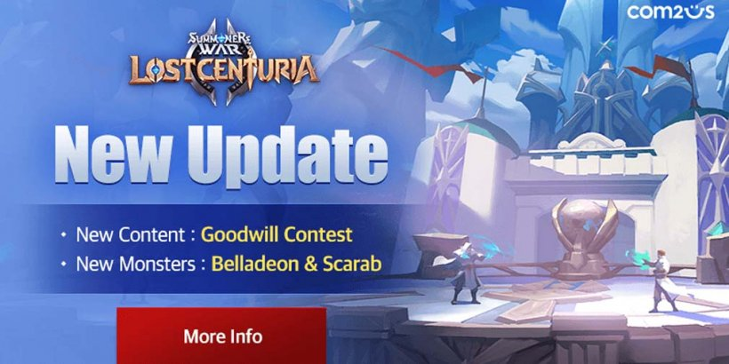 Summoners War: Lost Centuria announces Goodwill Contest and adds two new monsters