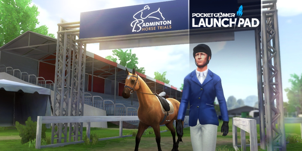 Equestriad World Tour is a licensed equestrian sports game that's available now for iOS and Android