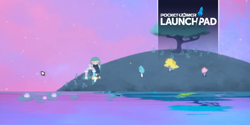 Alula is a dreamy, wistful game of gardening and stargazing in development for mobile