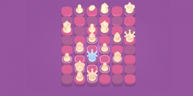 Not Chess, the strategic puzzler, is out today for iOS