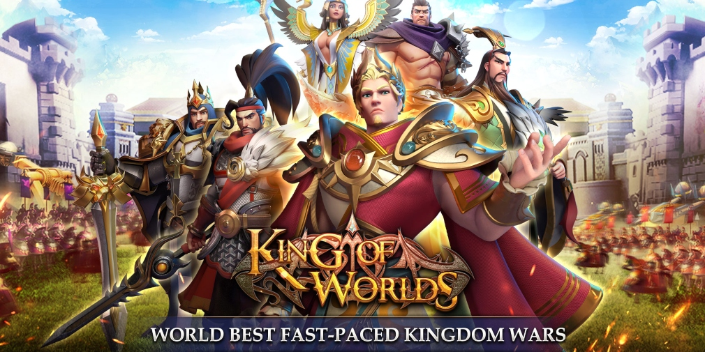 King of Worlds is a fast-paced strategy game that has now soft-launched in select regions for iOS and Android