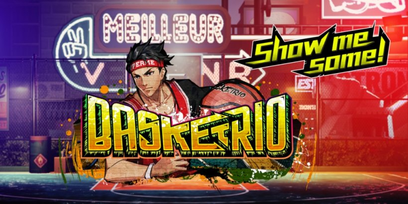 Basketrio is a fast-paced basketball game that's available now for iOS and Android