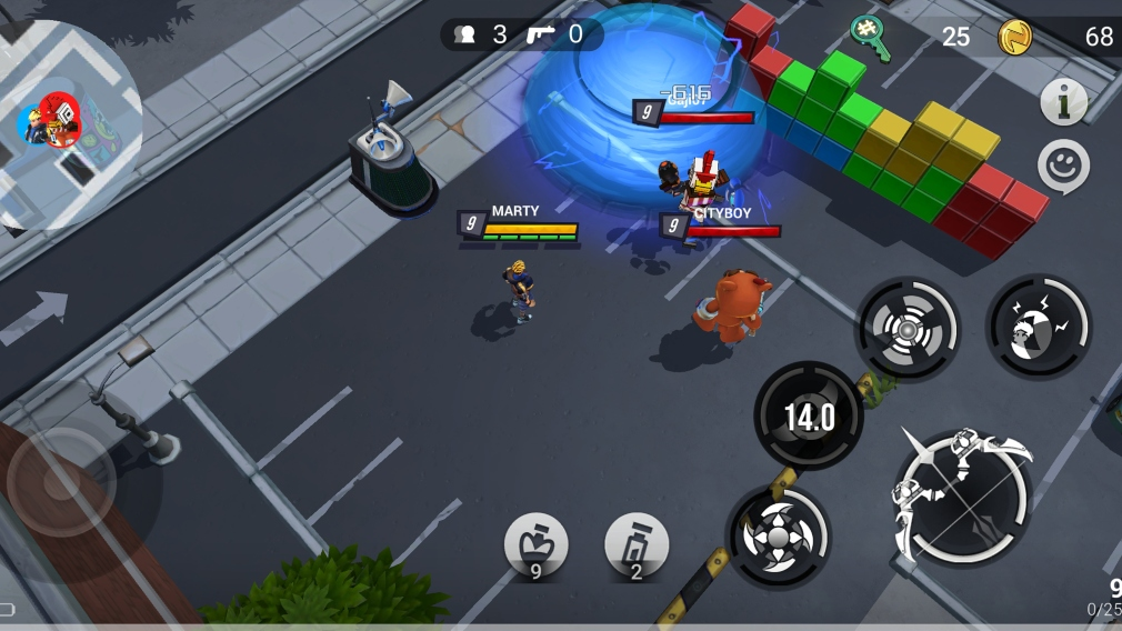Battlepalooza is an upcoming battle royale for iOS and Android that uses  real-world locations | Articles | Pocket Gamer