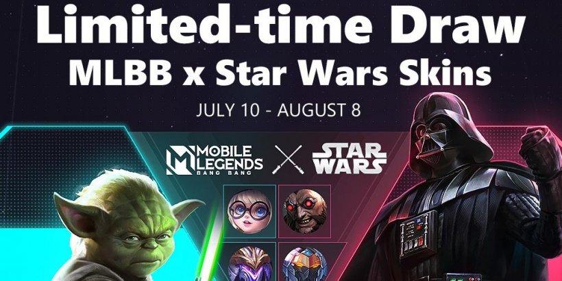 Mobile Legends: Bang Bang collaborates with Star Wars and lets you play as Darth Vader or Yoda