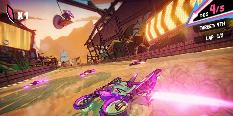 Warp Drive is an arcade racer that's heading for Apple Arcade this Friday