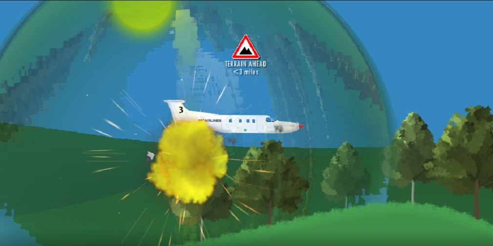 Flight Simulator 2D is an aviation game designed for mobile, out now