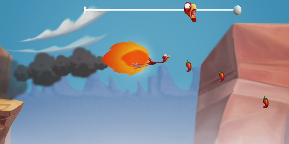 Cracké Rush is a wacky bird endless runner out now for mobile