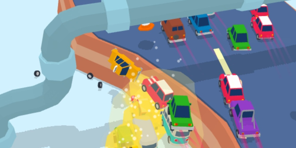 Mad Cars is an upcoming driving game for iOS where you control an entire fleet of vehicles simultaneously