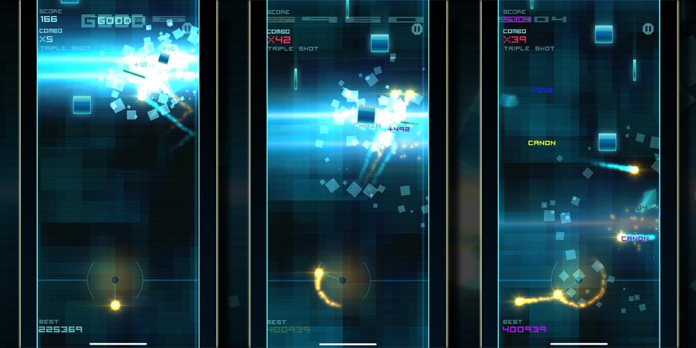 Popular action-arcade game Blokshot Revolution has returned to iOS as Blokshot Evolution