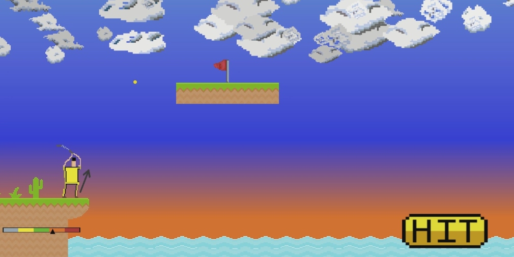 Golf in 60 Seconds is a retro-styled sports game about hitting high scores within a time limit