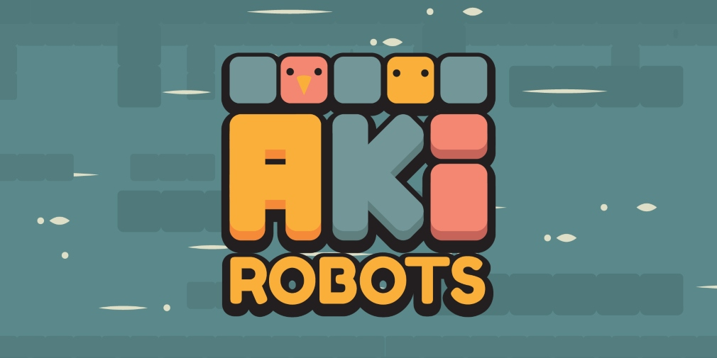#AkiRobots is a quirky and colourful 2D puzzle platformer that's available now for mobile