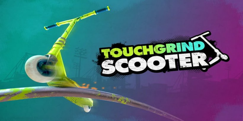 Touchgrind Scooter is an upcoming scooter racing title that's heading for iOS in June