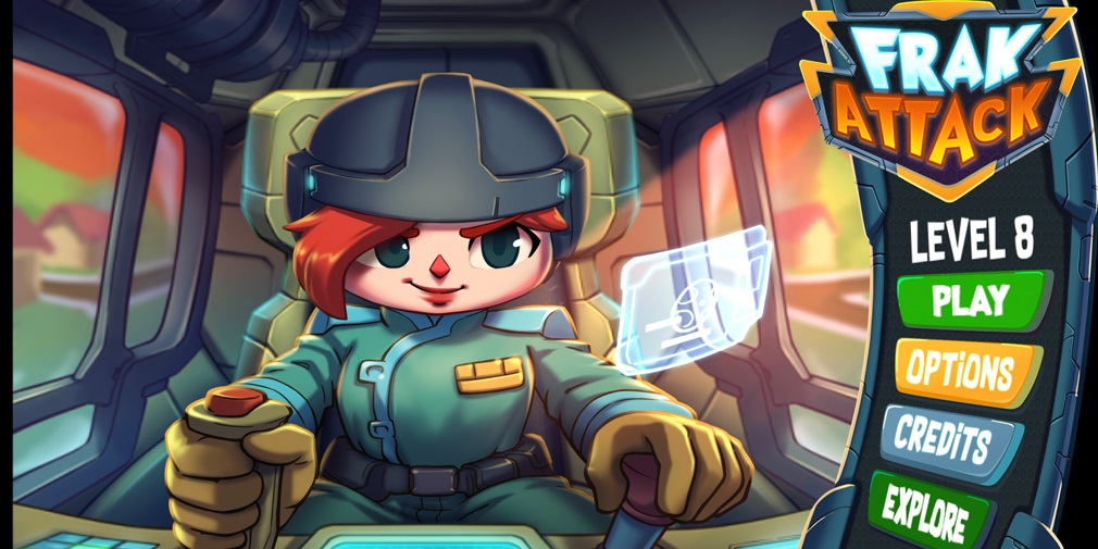 Frak Attack is an action-packed, city-building, tower defense style game that's available now for iOS