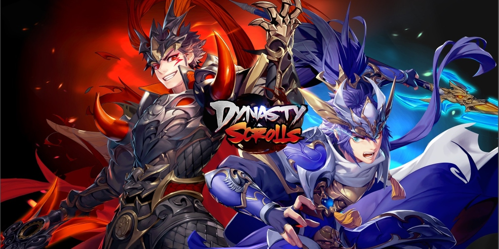 Dynasty Scrolls, YOOZOO's card-based RPG, is now available for iOS and Android