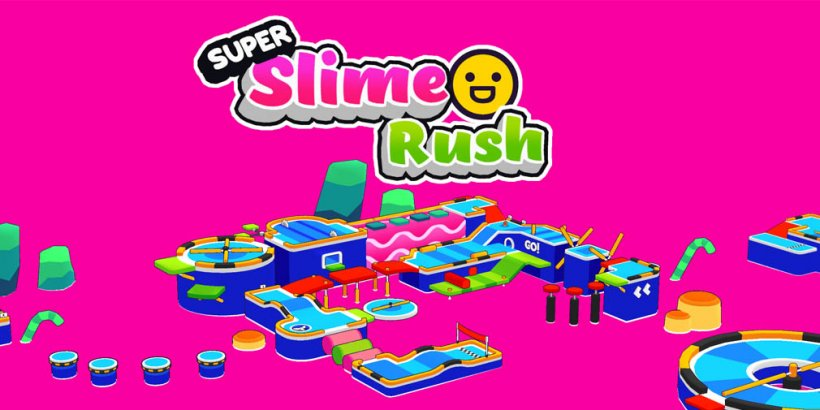 Win a copy of colourful obstacle platformer Super Slime Rush in our latest giveaway