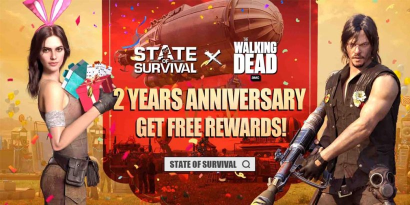 State of Survival celebrates two-year anniversary with login bonuses and new hero, Becca
