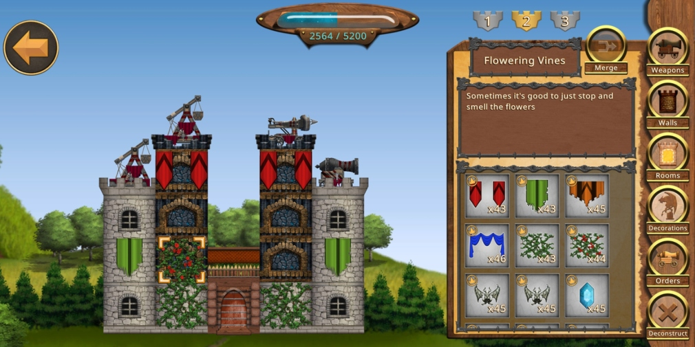 Siege Castles is a building and sieging strategy game that's now available globally for iOS and Android