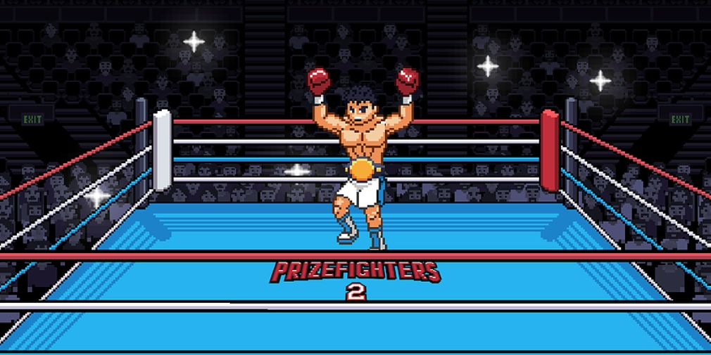 Prizefighters 2 is the latest entry in Koality's Punch-Out-inspired boxing game series, available now for iOS and Android